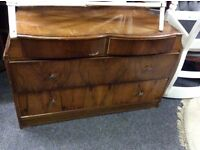 Reduced vintage chest of drawers