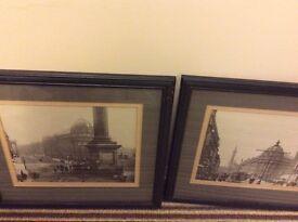 2 vintage prints of Newcastle monument