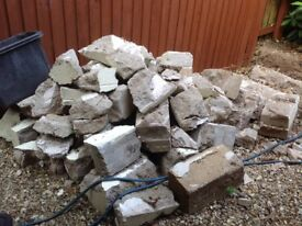 Free rubble to collector