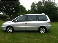 ONE OWNER Diesel 7 seater Peugeot 2007 HDI 98K mileage Cruise Ctrl HPI Clear MOT 2 keys -P/x welcome