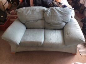 Comfy Green Sofa