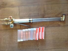 Koike mk100 burning torch and nozzles