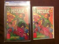 Green Lantern cgc comic with additional original issue (rare)