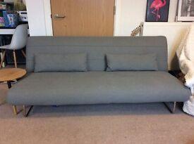 Habitat clic clac grey sofa bed