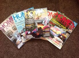 Homes & Antiques Magazines 55 copies