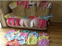 Selection of girls clothes aged 2-3
