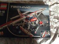 Technic Lego - fire plane