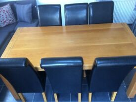 Top Quality Solid Oak Dining Table