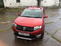 Red Dacia stepway