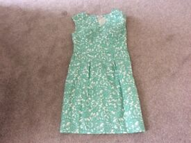 Green and white Merona' dress size 6