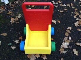 baby walker brick trolley Lego