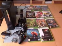 Xbox 360& 11 games