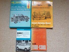 4 motoring books