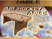 Air Hockey Table - electric fan games table