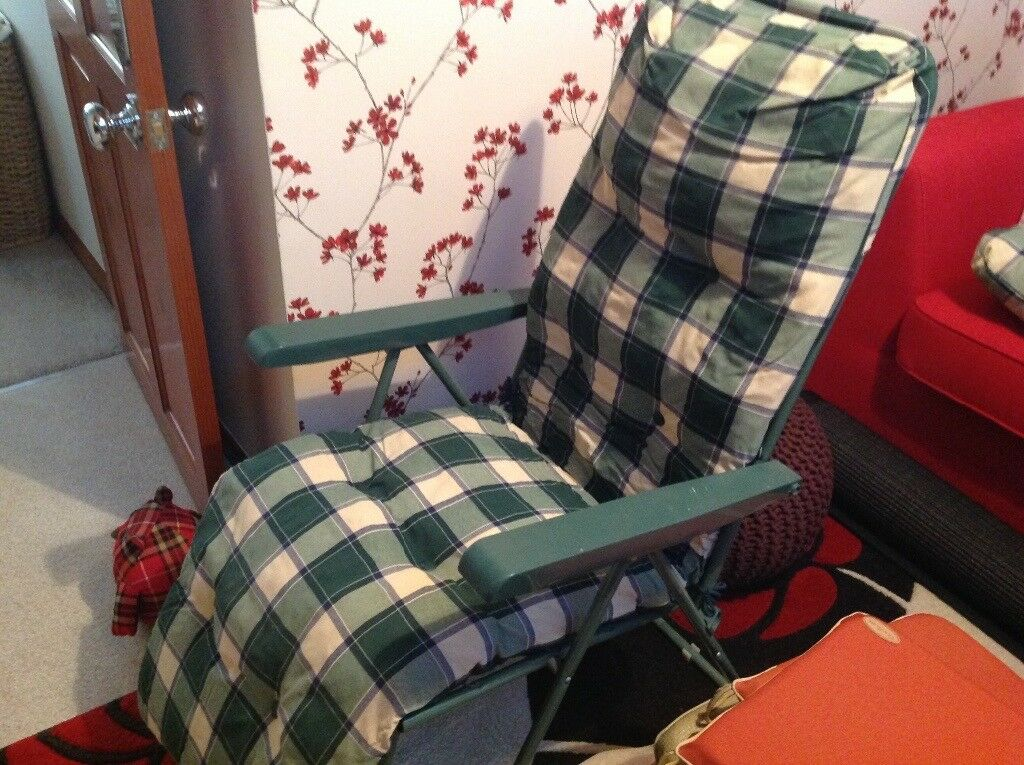 Garden chair plus spare cushion