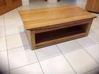 Tokyo Natural Solid Oak Large Coffee Table Oak Furnitureland (W) 130cm x (H) 45cm x (D) 70cm