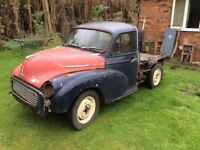 Austin Minor Pick up for FULL restoration. Runs and moves.
