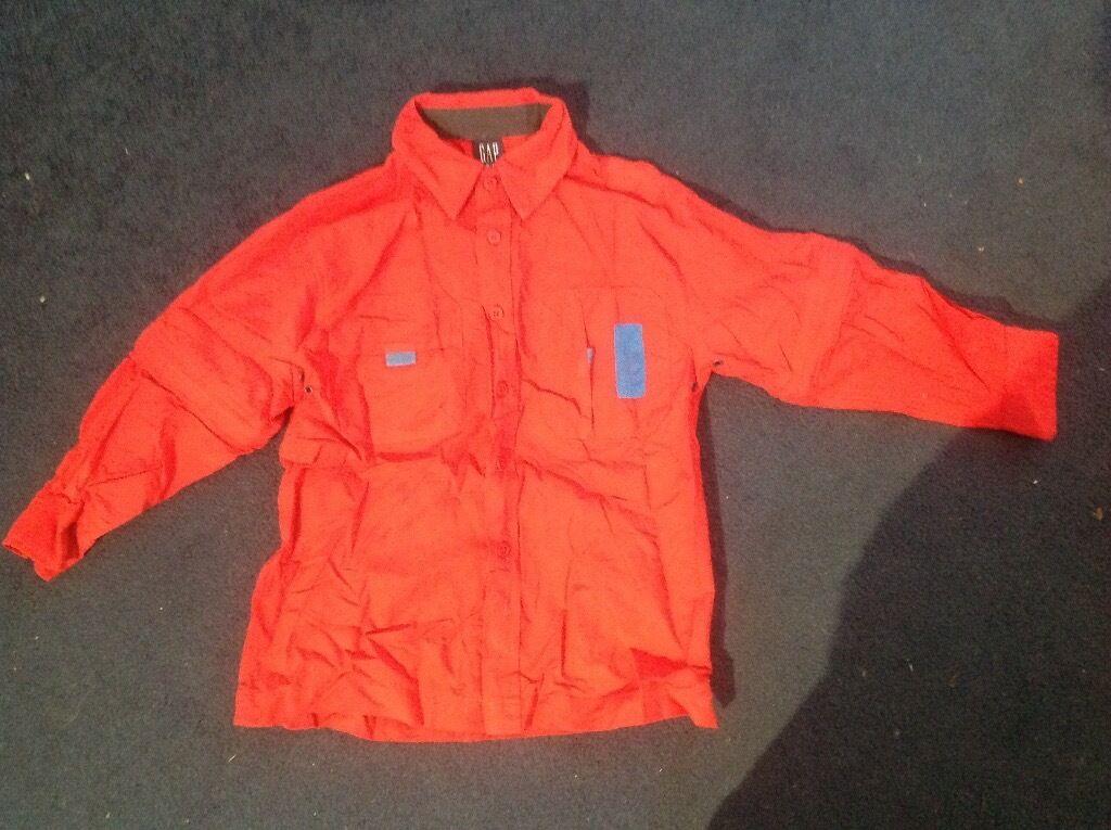 Gap Boy's Red Shirt Size S/P