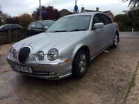 Jaguar S-Type 3.0 V6 SE Automatic. Genuine just 60000 miles from new