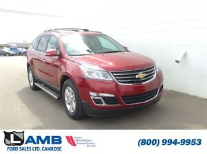 2010 CHEVROLET TRAVERSE LT AWD 7 passenger On star Bluetooth Rev