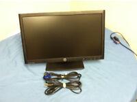 "HP Compaq LA2006x 20"" Wide LCD TFT Monitor with VGA Cable, Power Cord"