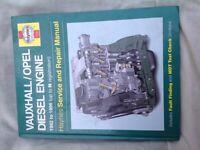 Just £3 Haynes Vauxhall Diesel Engine Service & Repair Manual 1982-96 like new.