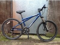 Gt tempeset hardtail youths/Mens bike
