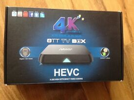 4k OTT tv box