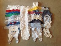 Premature Baby boy bundle clothes, Early Baby/Tiny Baby, Mothercare and others, used