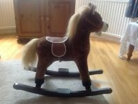 Children's rocking horse.
