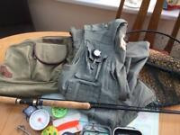 FLY FISHING OUTFIT