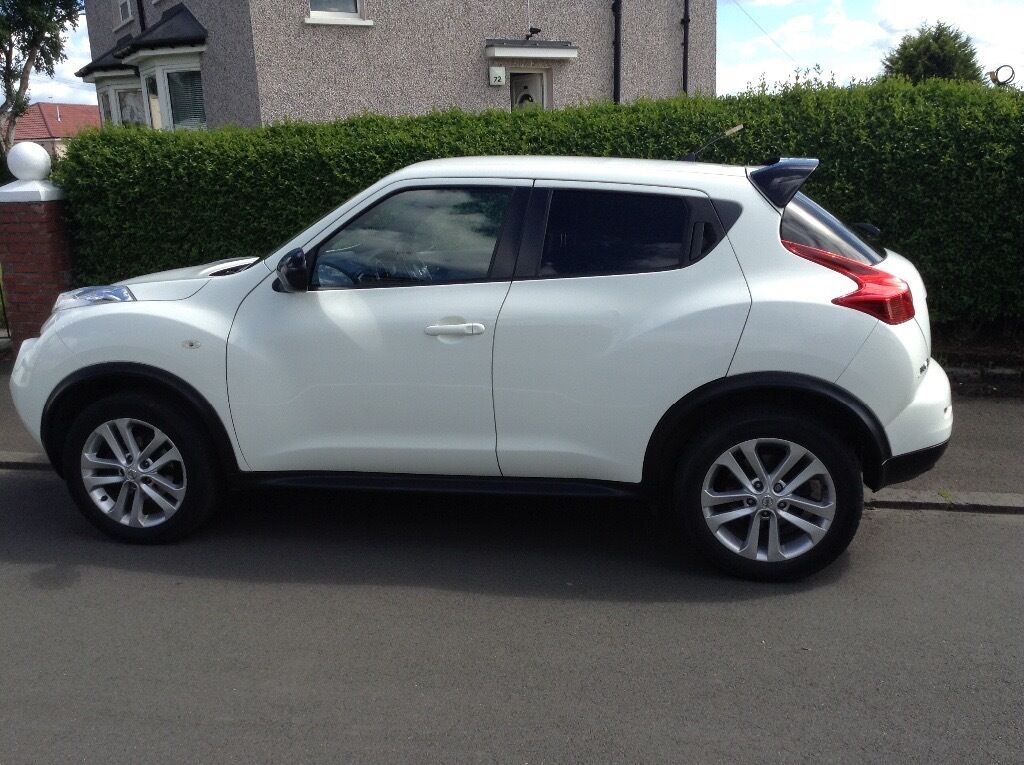 white nissan juke acenta sport 2012 in east end glasgow gumtree. Black Bedroom Furniture Sets. Home Design Ideas