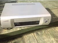 Fully working silver VHS player