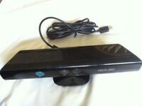 XBOX360 KINECT SENSOR BAR COMES WITH ONE XBOX GAME / for sale or swaps are welcome