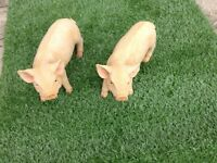 Outdoor Resin Garden Baby Pigs *New*