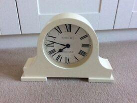 Newgate mantel clock cream