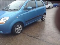 Chevrolet matiz se 995cc 2008 31 k immac cond cheap tax long test