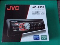 Very NEW JVC car CD receiver KD-R331, bought from Amazon and used 2 months