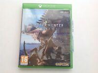 Monster hunter world for Xbox one.