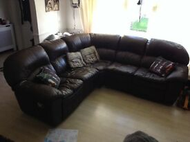 Sofa corner recliner suite quick sale £100