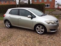 Toyota Auris 2.2 Diesel good condition and very reliable with only 73000 miles on the clock.