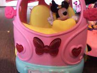 Minnie Mouse light up ice cream van