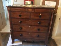 Antique Inlaid Chest of Drawers