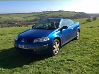 2004 Renault Megane Dy-Mique VVT 115 A Hardtop Convertible 1598CC Petrol Automatic for Private Sale