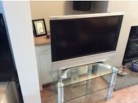 "SHARP 32"" LCDTV AND TV UNIT"