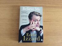 Biography Eddie Izzard 'Believe me' NEW