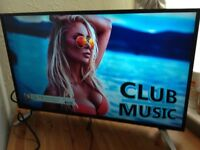 SHARP 40-inch Smart FULL HD LED TV-built in Wifi,Freeview & FREESAT HD,GREAT Condition