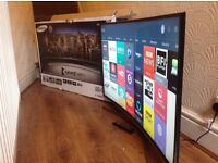 "BOXED Samsung 48"" CURVED SUPER Smart HD TV,built in Wifi,Freeview HD,Netflix,Excellent condition"