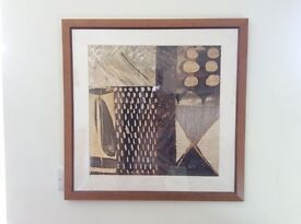 African Print Pictures Beautifully Mounted