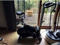 York 2 in 1 cycle/rower £75